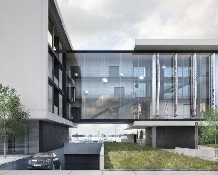 Jeden z pomysłów na przebudowę budynków w marinie
