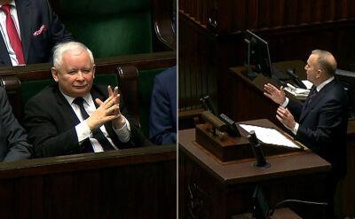 Schetyna: twórca i kierownik tego najgorszego rządu siedzi w pierwszym rzędzie