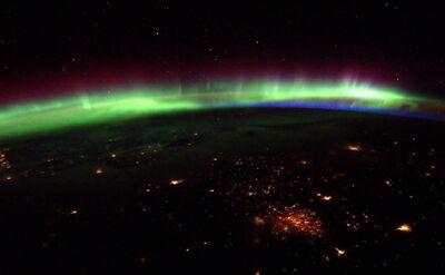 Zjawisko świetlne oczami astronauty. Niesamowite zdjęcia z kosmosu