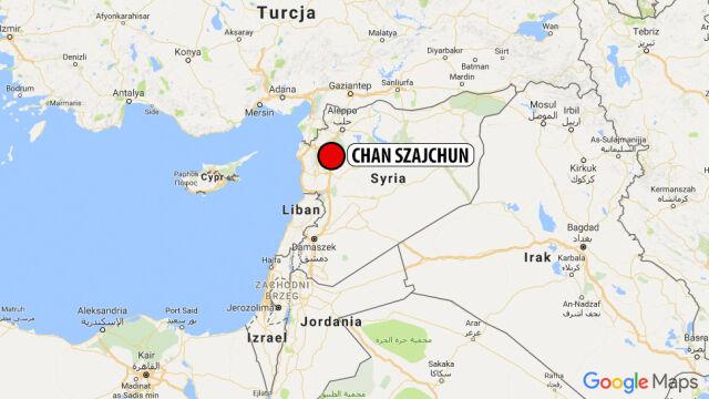 Atak chemiczny w Chan Szajchun