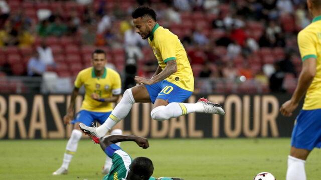 27 lat i już setny mecz Neymara w kadrze. Brazylia tylko remisuje