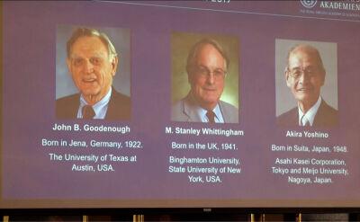 Nagroda Nobla z chemii przyznana za baterie