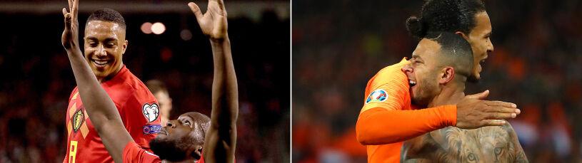Rekordowi Belgowie już z awansem na Euro. Van Dijk zawstydził całą drużynę Irlandii Północnej
