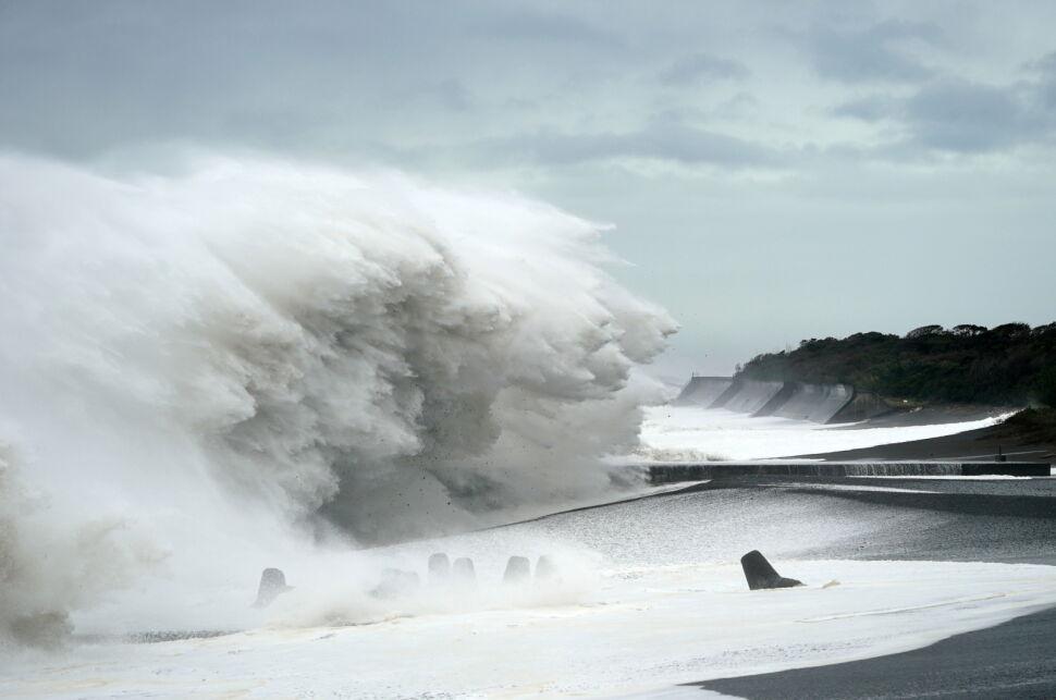 Tajfun Hagibis w Japonii