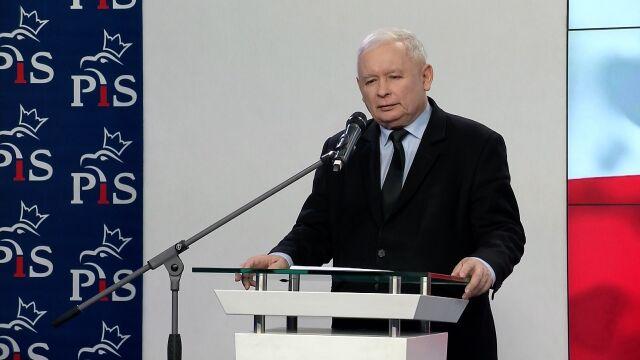 Kaczyński: w ciągu pierwszych 100 dni zostaną albo uchwalone ustawy albo odpowiednie programy działania