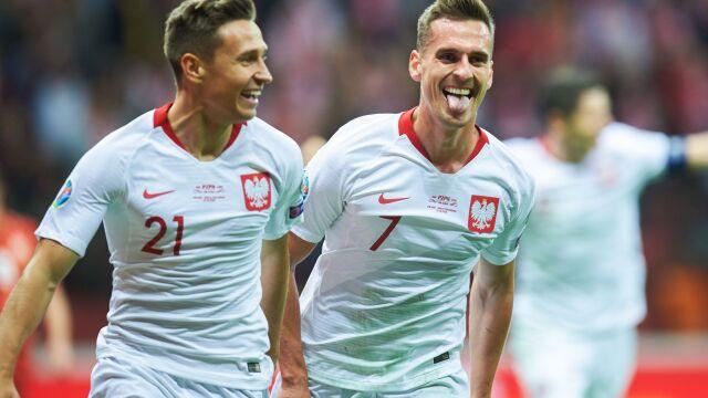 Reprezentacja Polski świętuje awans na Euro