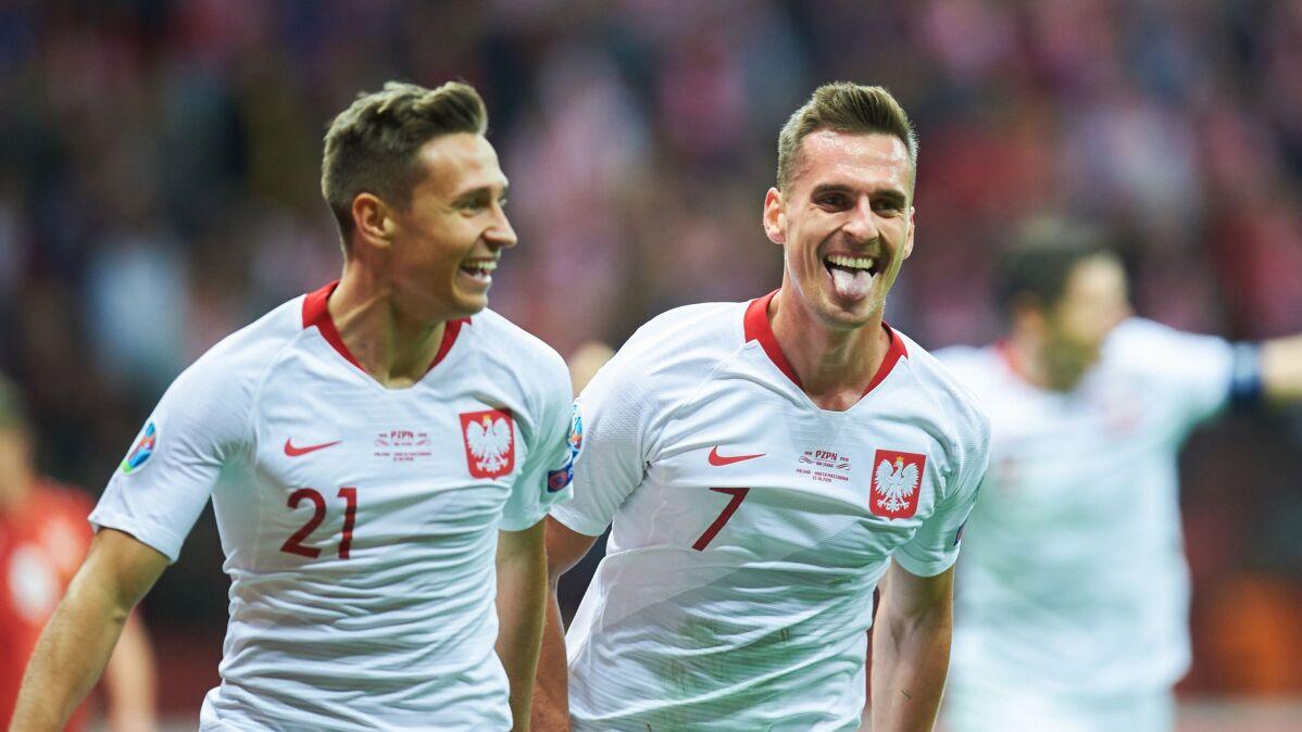 Zabójcza końcówka meczu z Macedonią Północną. Polacy świętują awans na Euro
