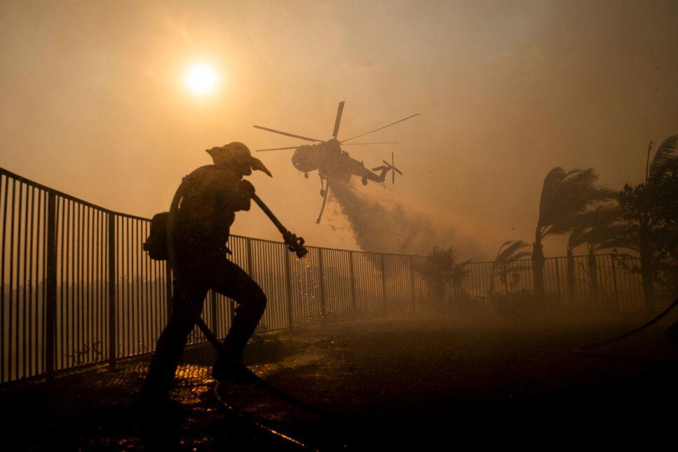 Pożar w Porter Ranch spalił ponad pięć tysięcy akrów, Kalifornia
