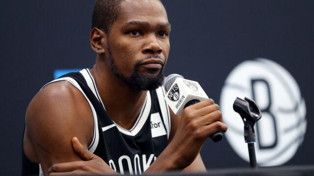 """Durant uciął spekulacje. """"Nie oczekujcie, że zagram"""""""