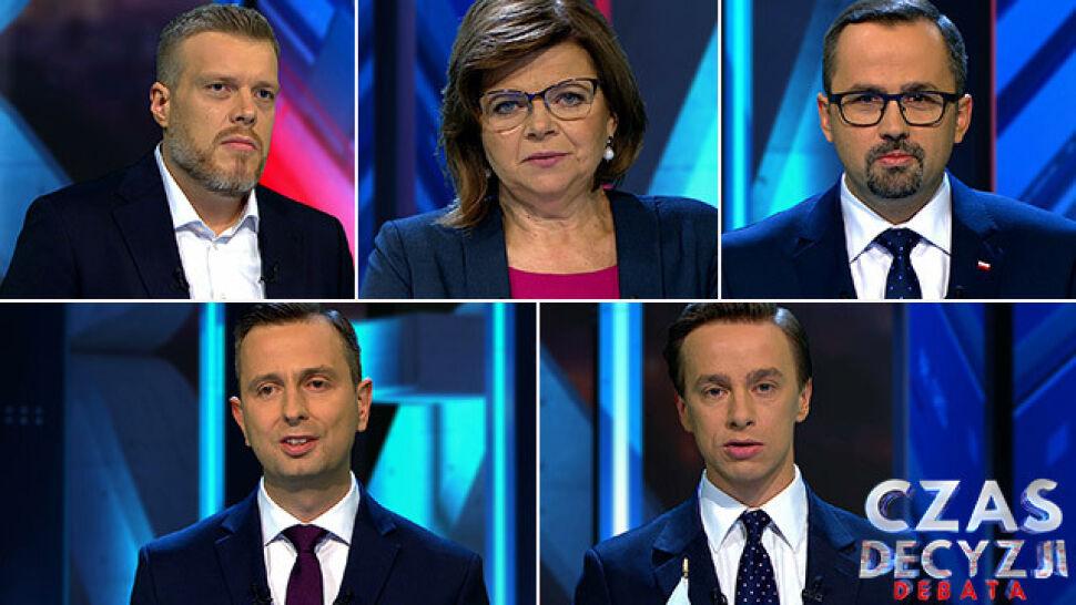 Liderzy Koalicji Obywatelskiej, PSL, Lewicy, PiS i Konfederacji apelują o głosy