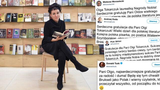 """Minister Gliński """"zobowiązuje się powrócić do niedokończonych wcześniej lektur noblistki"""""""