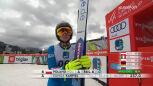 Skok Kamili Karpiel z 2. serii konkursu drużynowego w Ljubnie