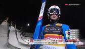 Skok Graneruda z 1. serii konkursu drużynowego w Lahti