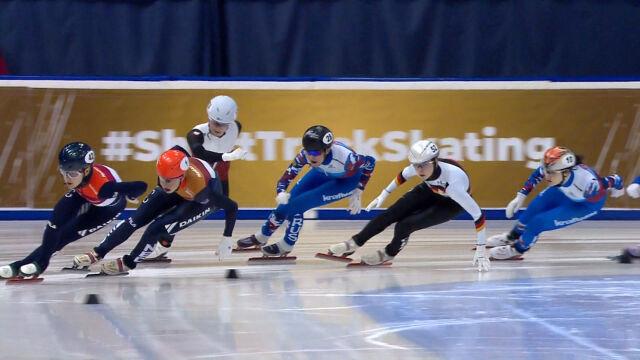 Pech Maliszewskiej w finale na 1500m, Schulting mistrzynią Europy