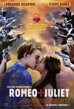 "Plakat filmu ""Romeo i Julia"""