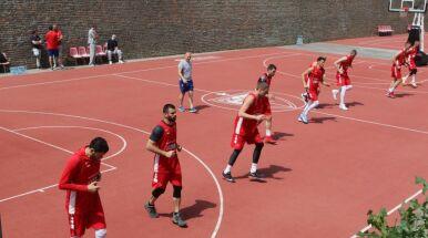 Wyjątkowy trening w Belgradzie. Koszykówka w murach fortecy