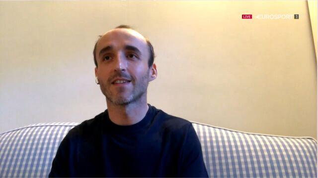 Kubica o przygotowaniach do wyścigu w Formule 1