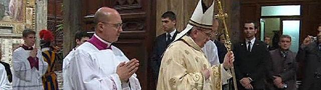 """Cała homilia nowego papieża.  """"Musimy ciągle być w ruchu"""""""