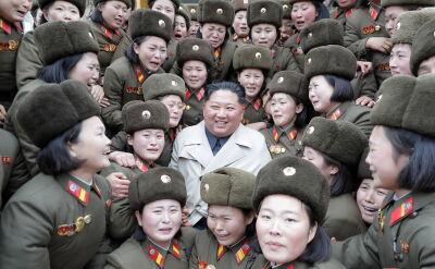 Kim Dzong Un wizytował jednostkę wojskową przy granicy