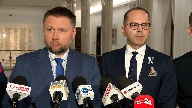 Kierwiński: chcieliśmy zadać Panu Banasiowi pytania. Niestety nie uniemożliwiono nam tego
