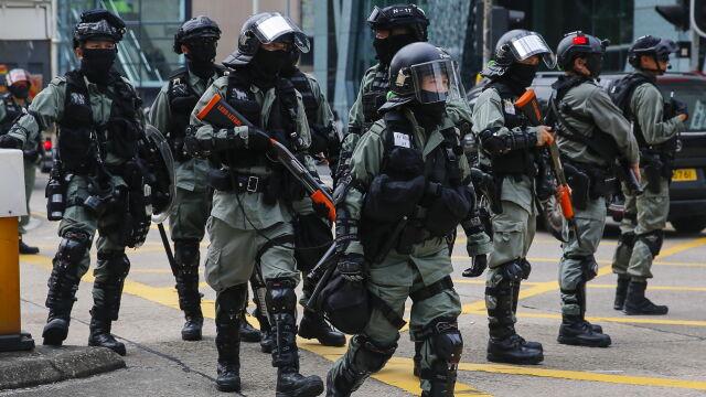 Sowite wynagrodzenie dla policjantów w Hongkongu