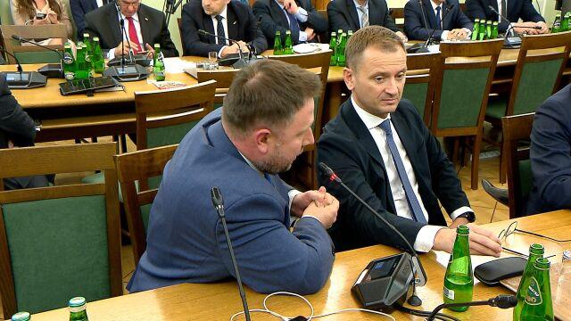 Marcin Kierwiński  zgłosił złożenie wniosku formalnego o zmianę sposobu prowadzenia obrad