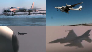 Długi lot rosyjskich bombowców.  Japończycy i Koreańczycy poderwali myśliwce