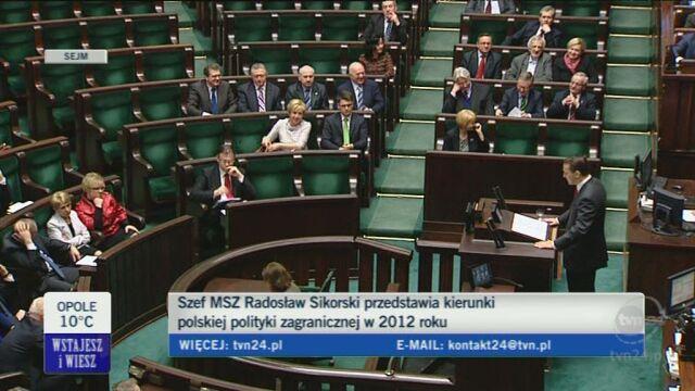 Szef MSZ o Niemczech (TVN24)