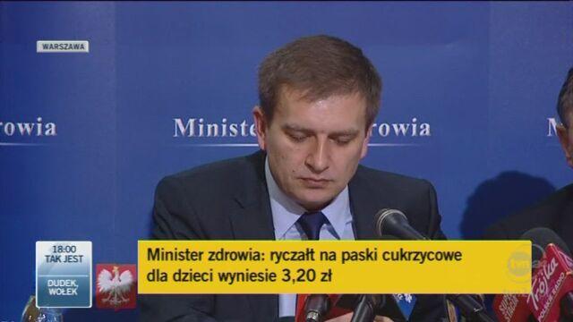 Arłukowicz mówi o lekach po przeszczepach (TVN24)