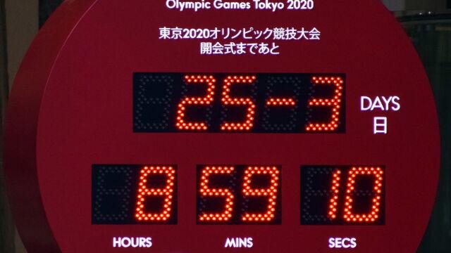 Zegar zatrzymałsię w Tokio