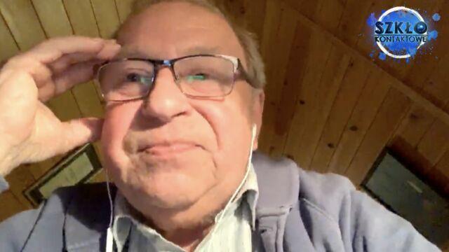 Jerzy Stuhr ogląda Szkło
