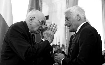 Jerzy Buzek o współpracy z Władysławem Bartoszewskim