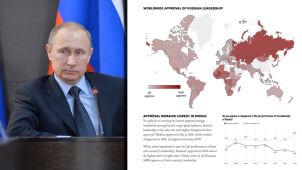 Poparcie dla Rosji tak niskie jeszcze nie było
