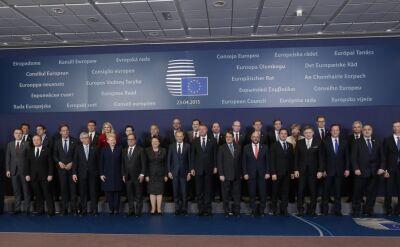 """""""Musimy ukrócić przemyt ludzi"""". W Brukseli o dramacie imigrantów"""