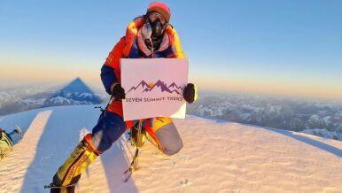 """""""Witamy ze szczytu"""". Pierwsze zdjęcie z K2"""