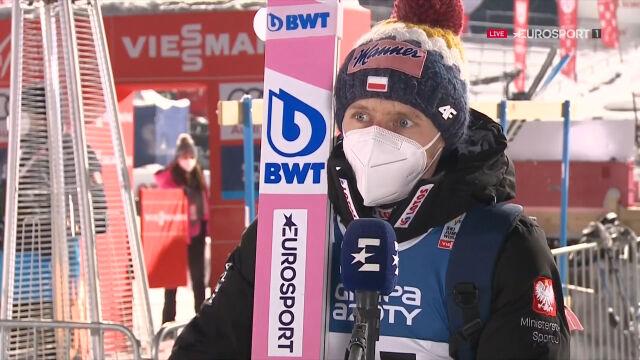 Kubacki po konkursie indywidualnym w Zakopanem