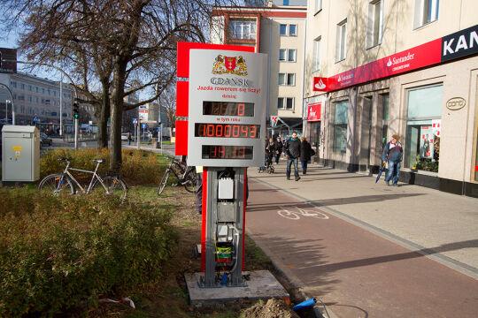 Rowerzystów będa liczyć czujniki wbudowane w nawierzchnię