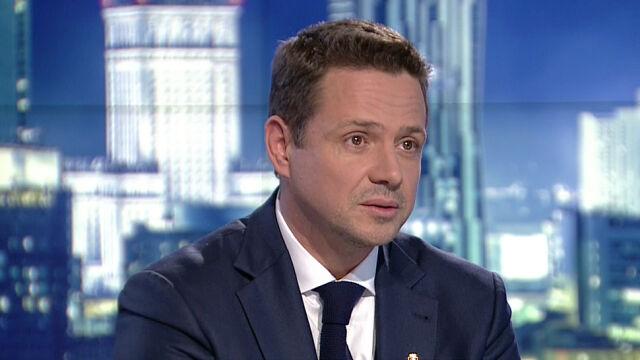 """Rafał Trzaskowski  był gościem """"Faktów po Faktach"""" w TVN24"""