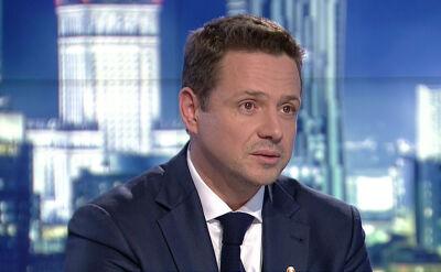 Rafał Trzaskowski o trzech pierwszych decyzjach