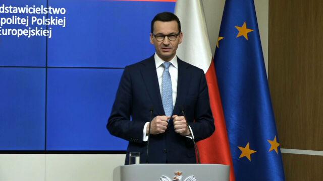 Morawiecki: umowa w sprawie brexitu gwarantuje prawa Polaków na Wyspach
