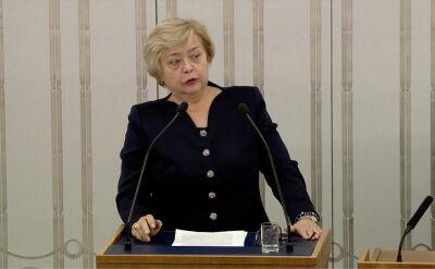 Gersdorf: szybkość postępowania legislacyjnego ustawy o SN bulwersuje środowisko sędziowskiego
