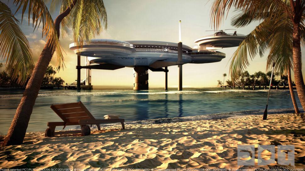 Model podwodnego hotelu nie stanie w Gdyni? Naukowcy wolą prowadzić testy w Zatoce Perskiej