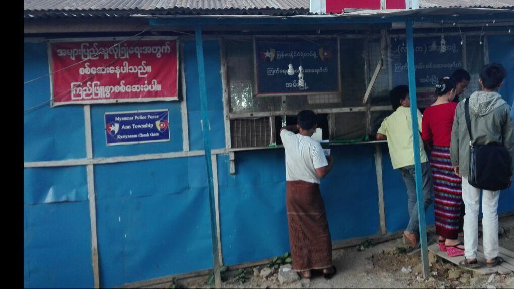 Kontrola na drodze do Arakanu. Rohindżom nie wolno opuszczać prowincji