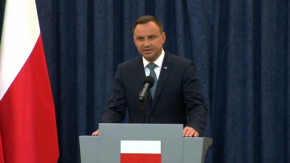 Dwa weta prezydenta Andrzeja Dudy