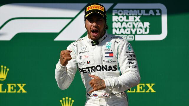 Rekordy Schumachera zagrożone. Hamilton ani myśli o emeryturze