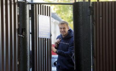 Nawalny wyszedł z aresztu