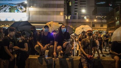 Chiny potępiają Kanadę i Tajwan za wsparcie dla protestujących  w Hongkongu