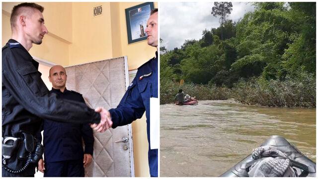 Wskoczył do rzeki w Tajlandii i uratował dwóch chłopców.