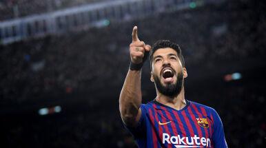 Emocjonalne pożegnanie Suareza z Barceloną.