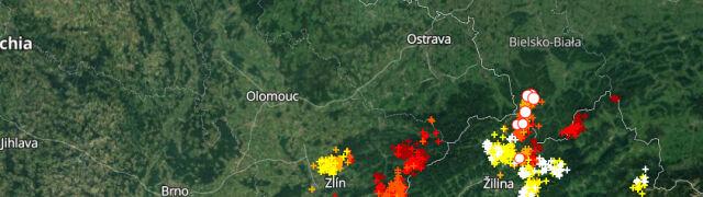 Grzmi na południu Polski. Sprawdź, gdzie jest burza